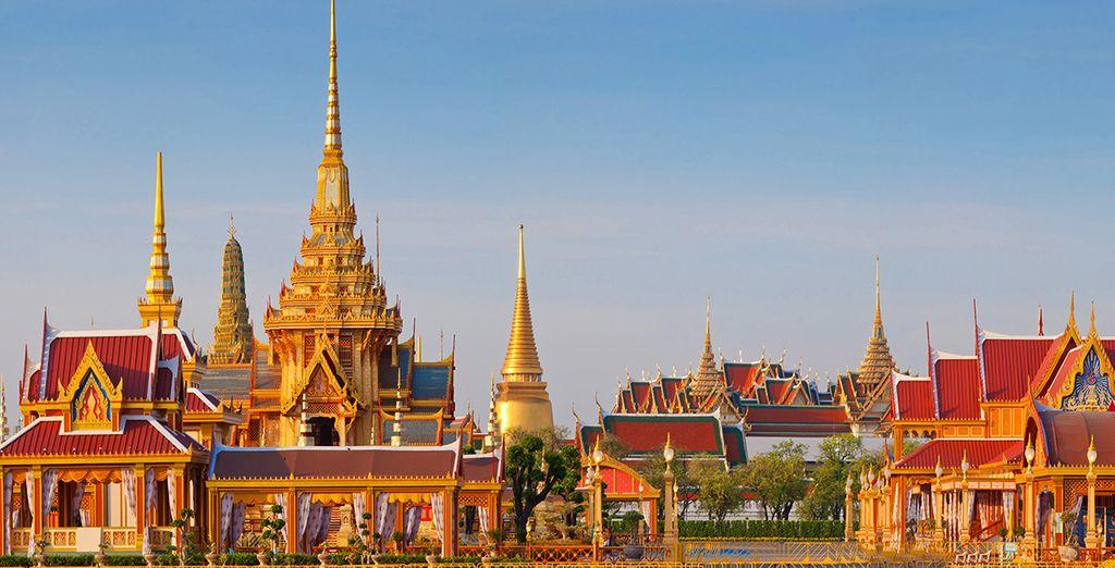 La capitale della Thailandia che vi affascinerà