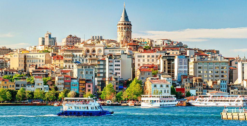 Fotografia della città di Istanbul in Turchia