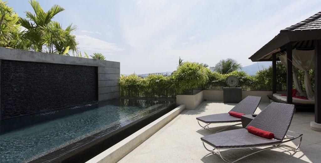 In alternativa, optate per il comfort delle Camere con spa e piscina privata