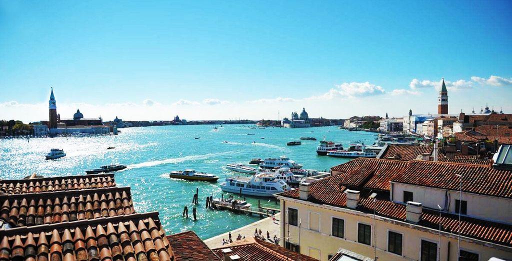 Partite per una fuga romantica a Venezia