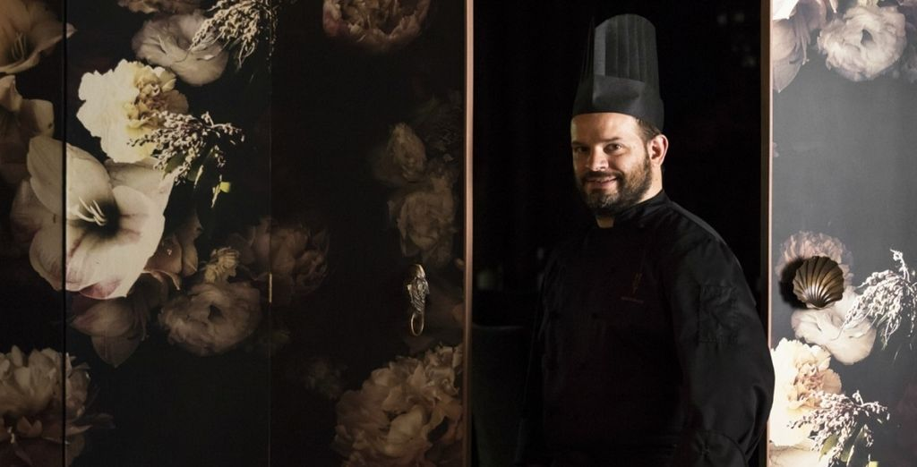 e i piatti dello chef Luca Veritti
