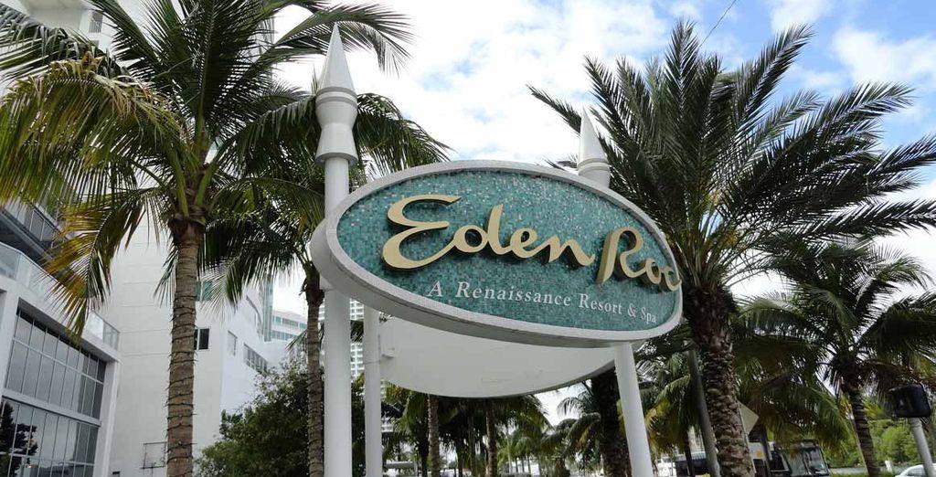 Sarete accolti al magnifico Eden Roc