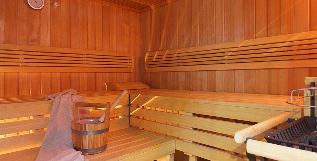 come la sauna per il vostro benessere