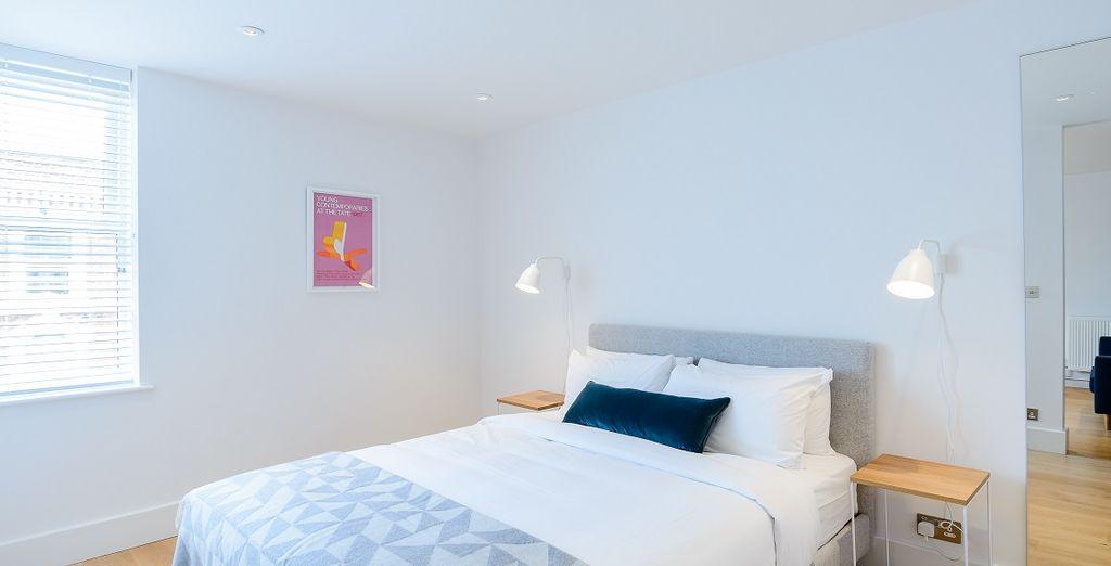 soggiornerete nelle comode Open Plan One Bedroom