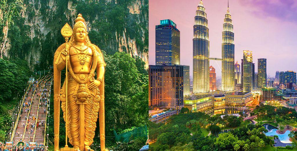 Partite per un magnifico tour della Malesia