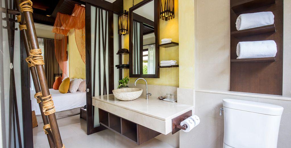 Le Garden Villa sono decorate secondo lo stile e il design thailandese