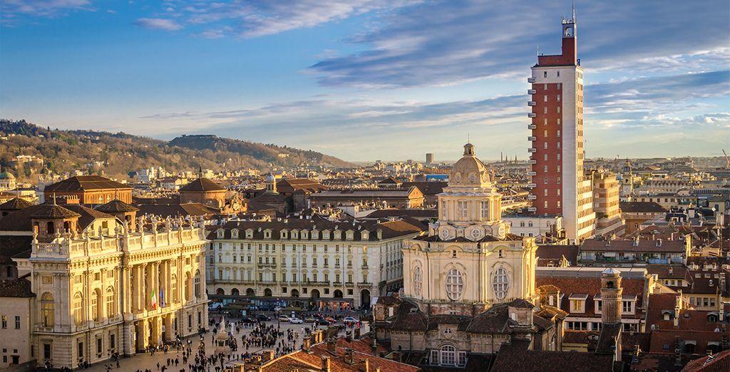 A circa 40 km di distanza la bellissima Torino.
