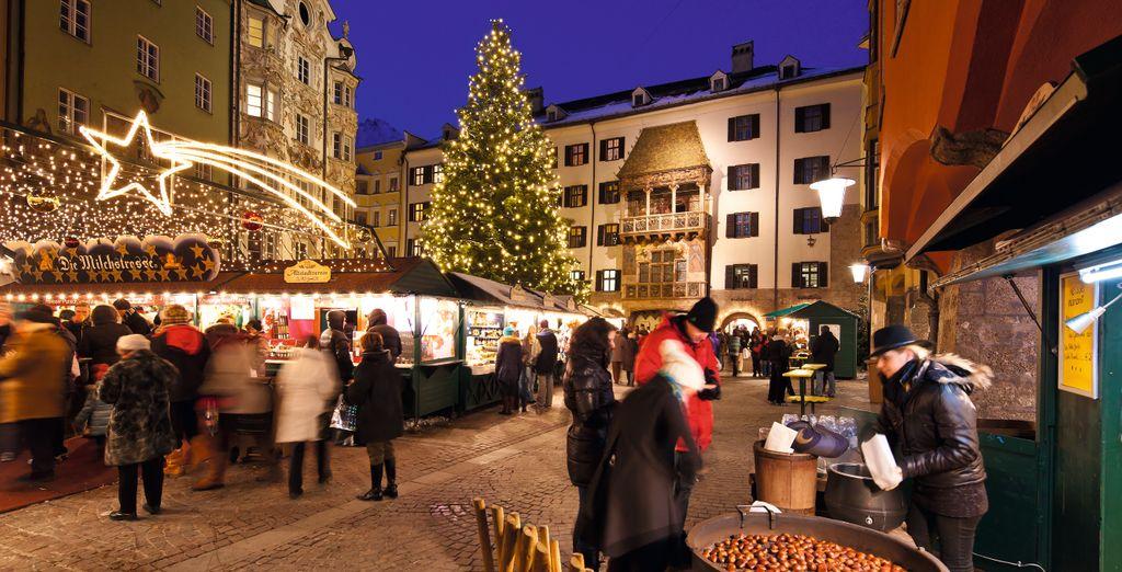 Vivete la magia dei mercatini di Natale