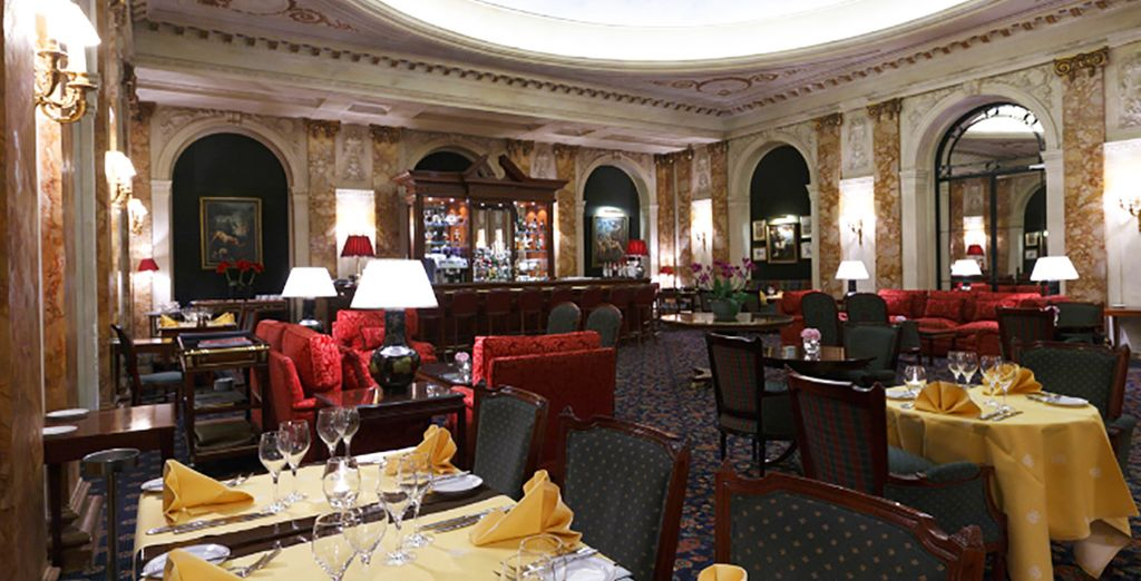 La Brasserie Estérel sarà il luogo ideale per una cena saporita