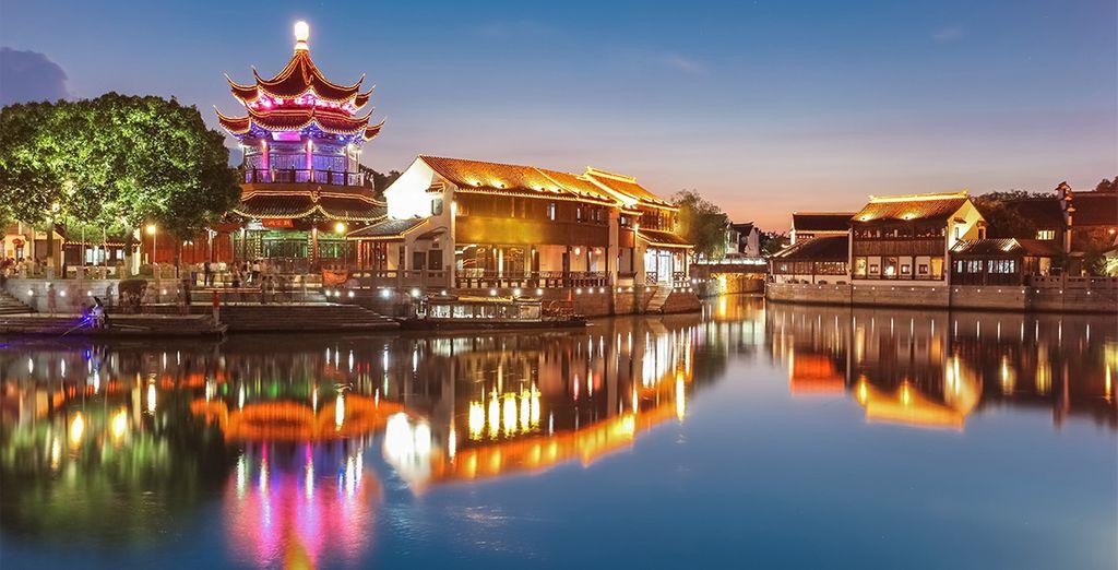 Suzhou e i suoi canali