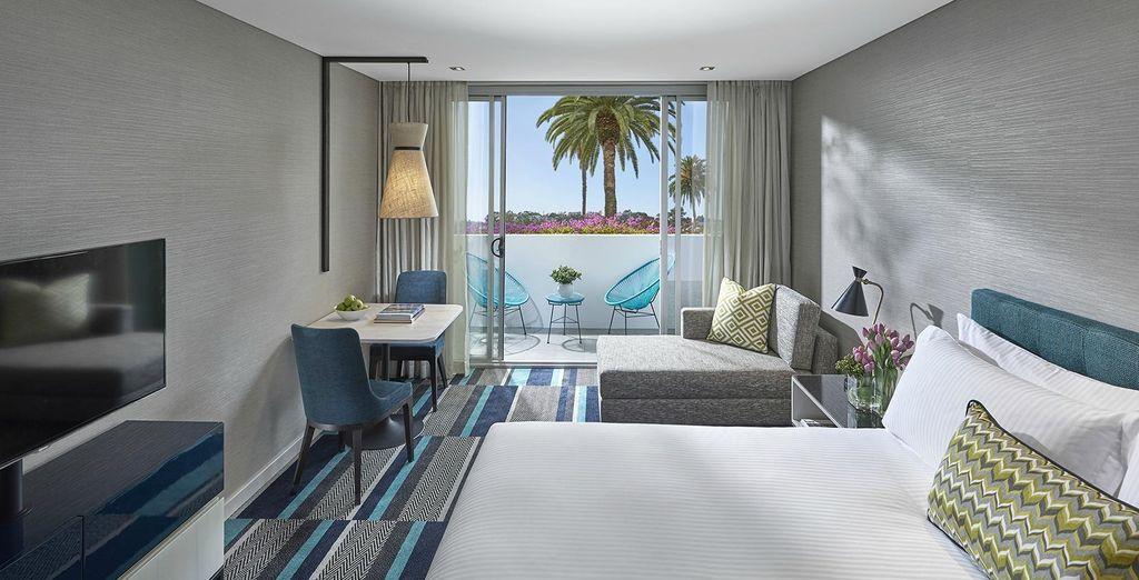 Hotel di lusso con vista panoramica su Sydney