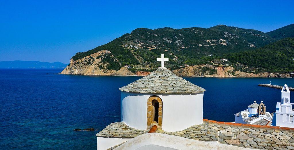 Ammirate la bellezza di Skopelos