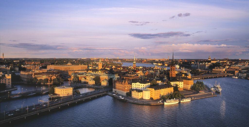 Stoccolma vi accoglie in tutto il suo splendore