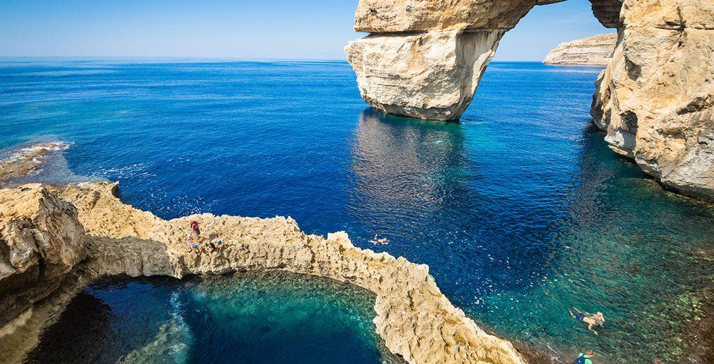 Zoals het eiland Gozo