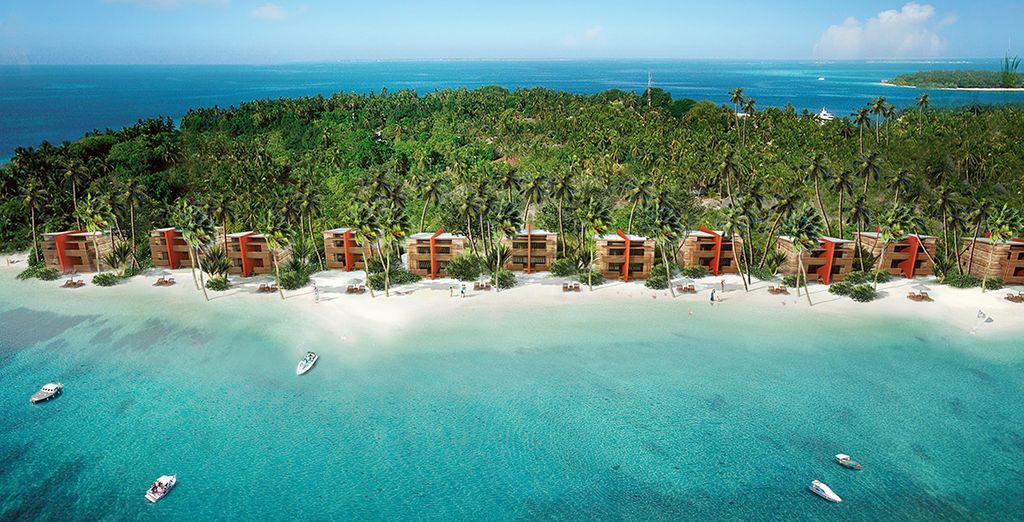 Welkom in het Barefoot Eco Hotel in de prachtige Malediven