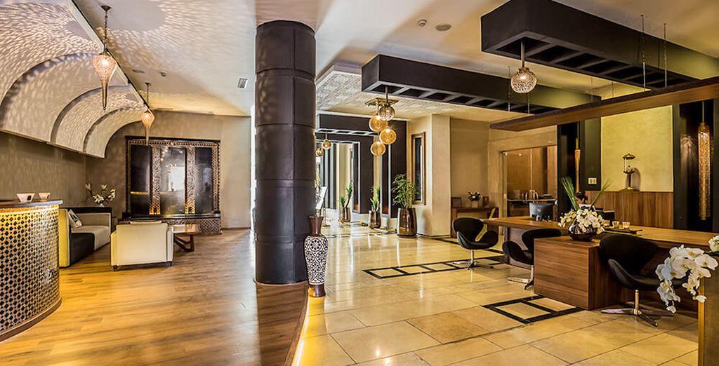 Welkom in het Dellarosa Hotel Suites & Spa 4*