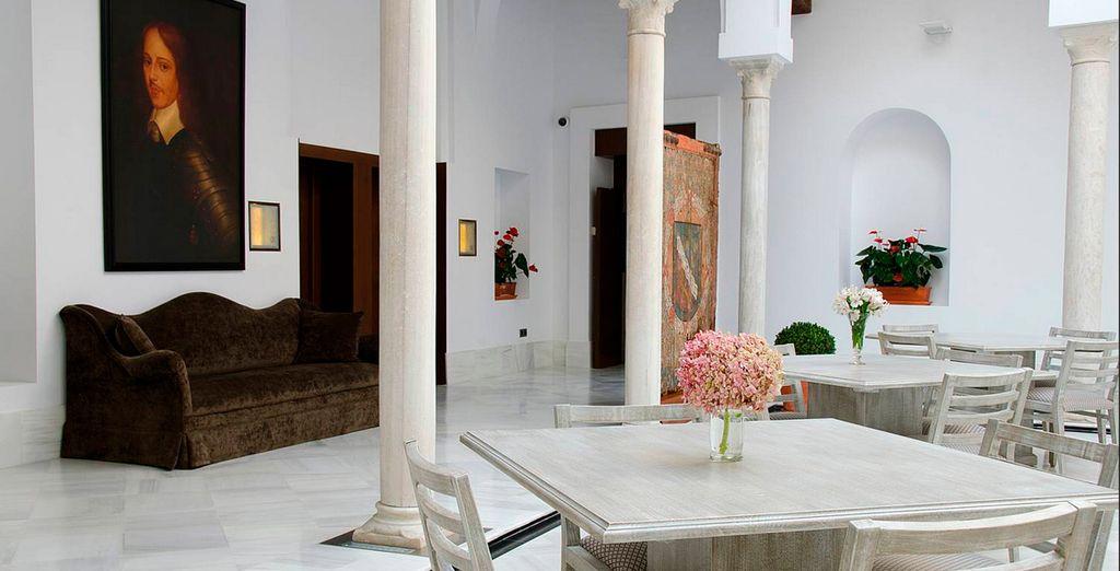 Een verblijf in een paleis