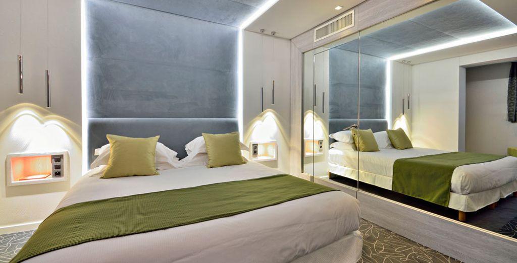 Nestel u in een comfortabele Klassieke kamer