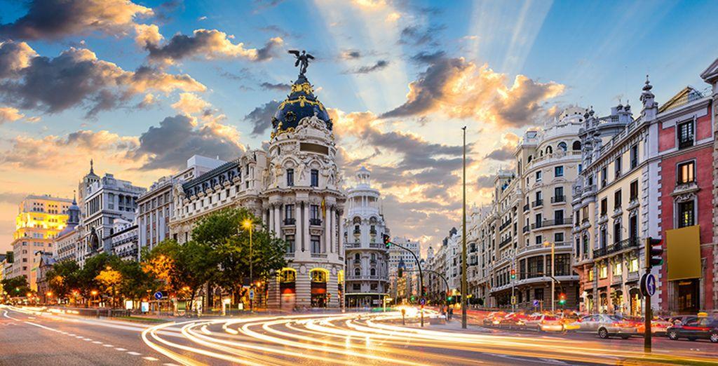 Welkom in het centrum van Madrid