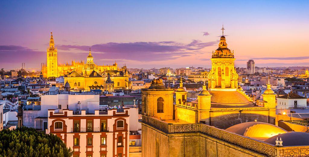 Sevilla heeft een speciale kleur