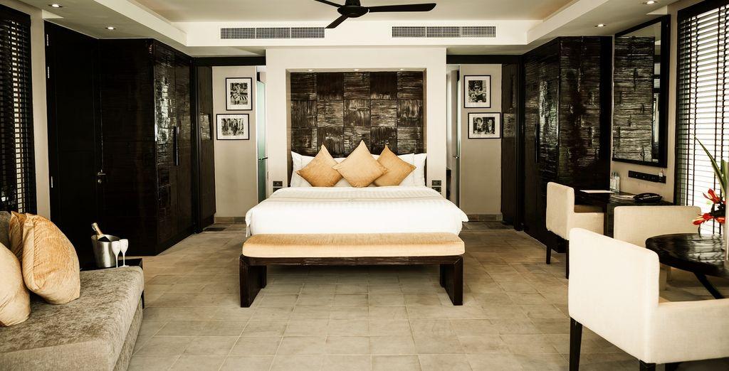 Of de 2-slaapkamer suite met zeezicht