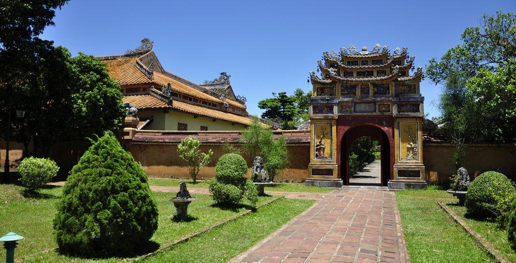 En het historische Hué