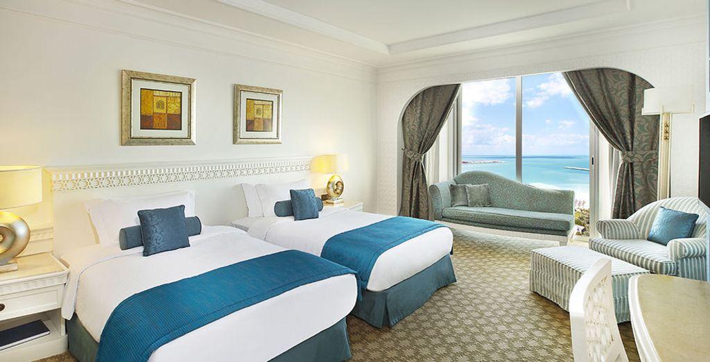 Een prachtige en comfortabele kamer