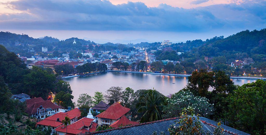 En het pittoreske Kandy