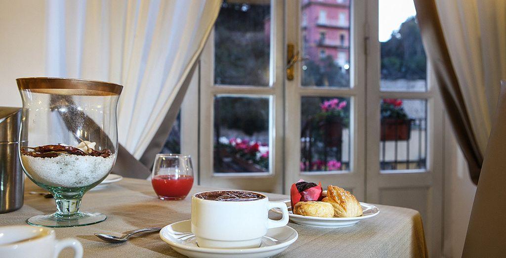 Begin uw dag met een lekker ontbijt