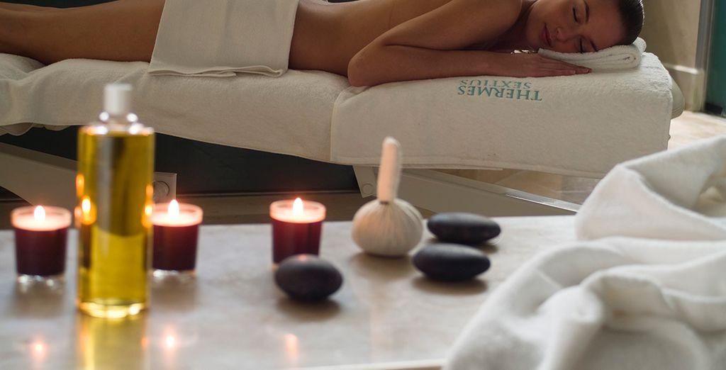 Een ontspannende massage doet wonderen