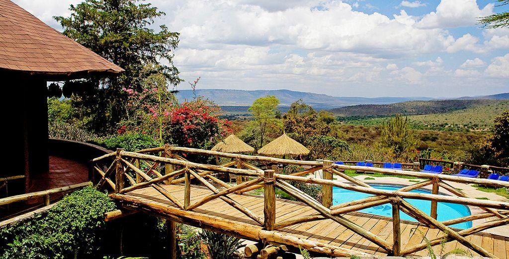Verblijf in luxe tenten (afgebeeld: Mara Sopa Lodge)