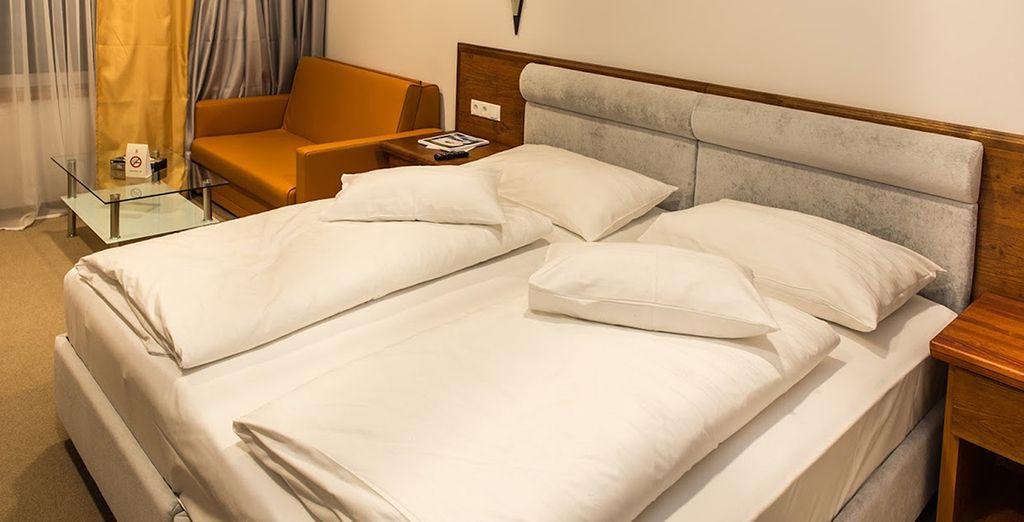 Elk met gezellige en comfortabele kamers