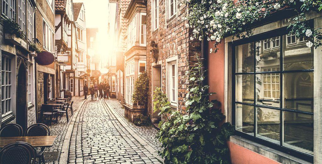Ga op verkenning door de pittoreske straatjes