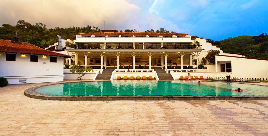 Tijdens uw reis verblijft u in prachtige hotels (Cinnamon citadel)