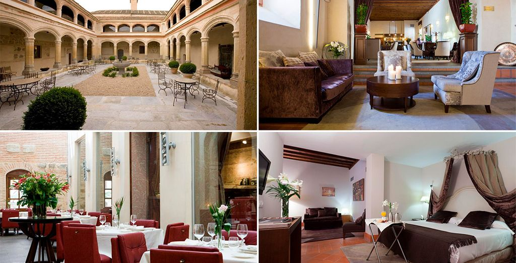 Hotel San Antonio El Real 4* in Segovia