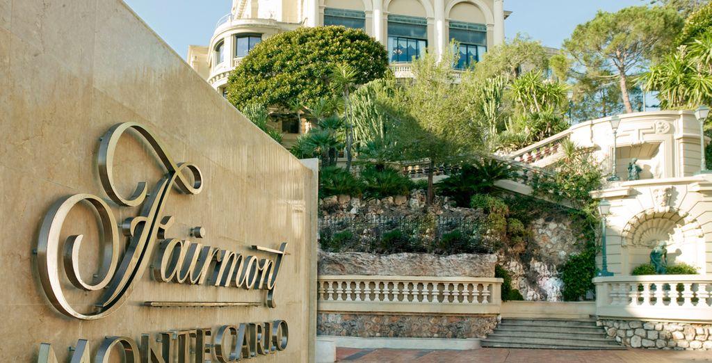 In het hotel Fairmont Monte Carlo 4*