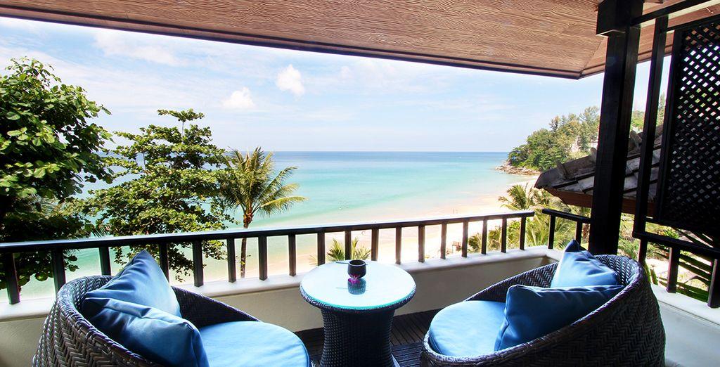 Elke dag met een prachtig uitzicht op de Andamanse Zee