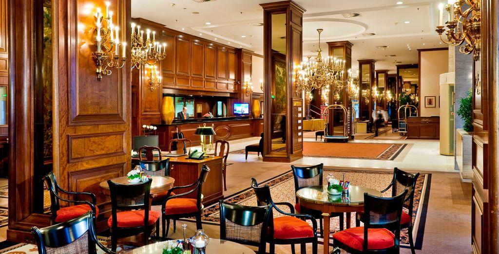 Een klassiek hotel