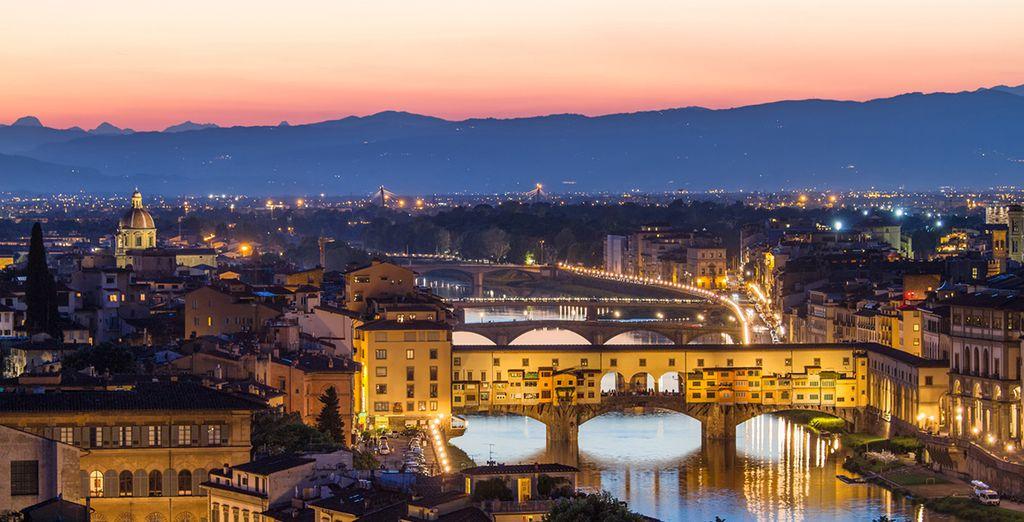 De nachten zijn magisch in Florence