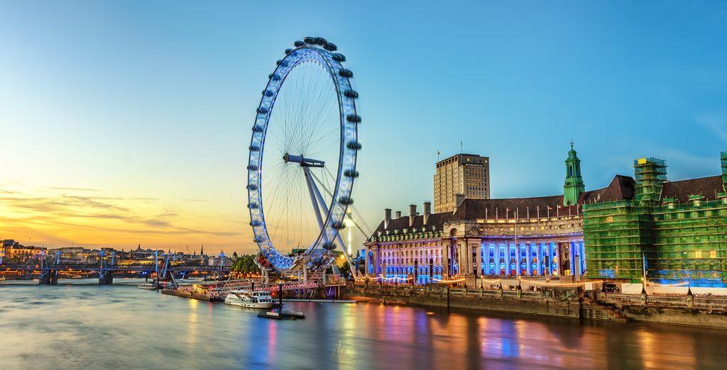 In het hart van Londen!