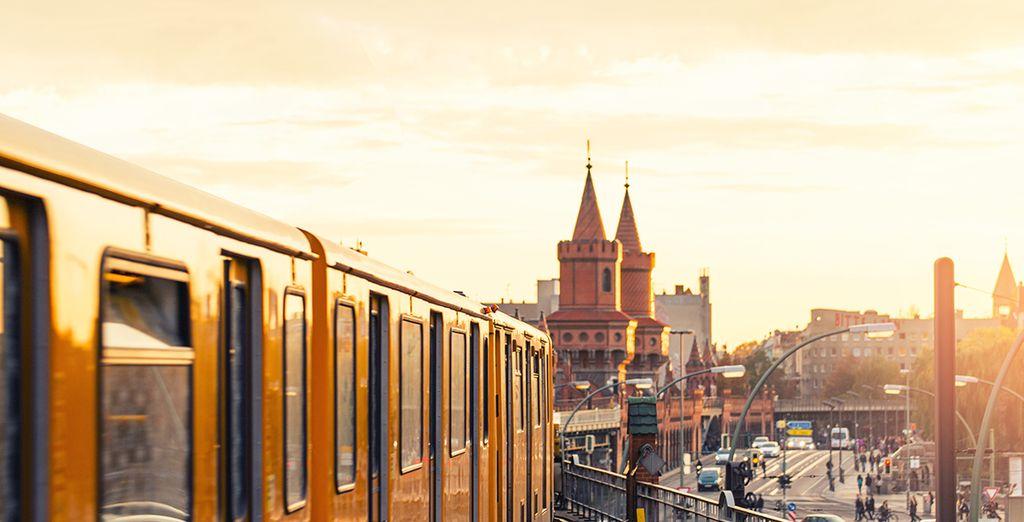 En genieten van deze Duitse hoofdstad