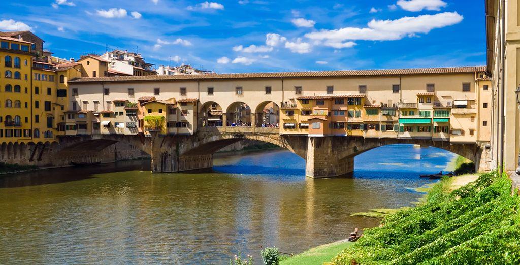 Bezoek Ponte Vecchio en geniet van de uitzichten