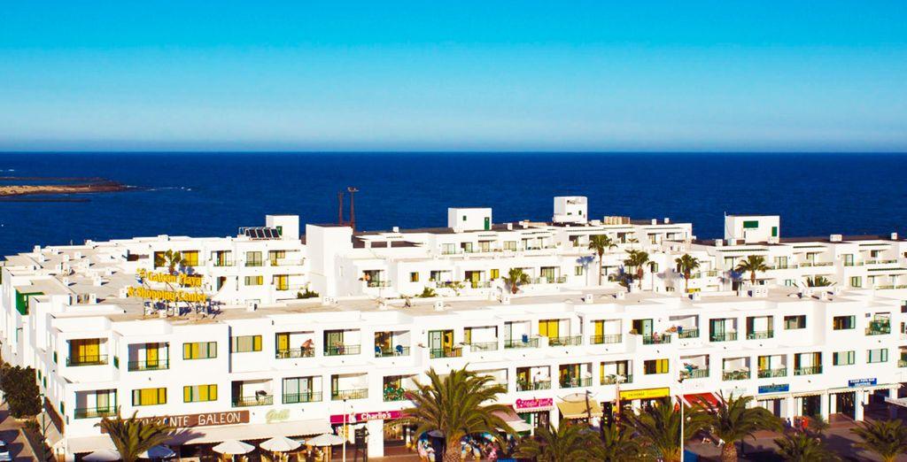 Welkom bij Apartamentos Galeón Playa