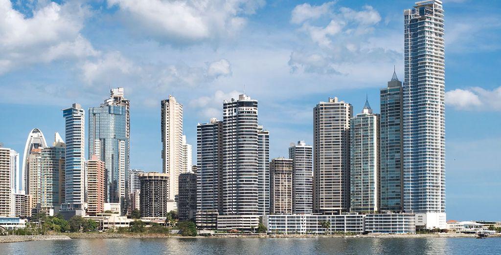 Uw vakantie begint in Panama City