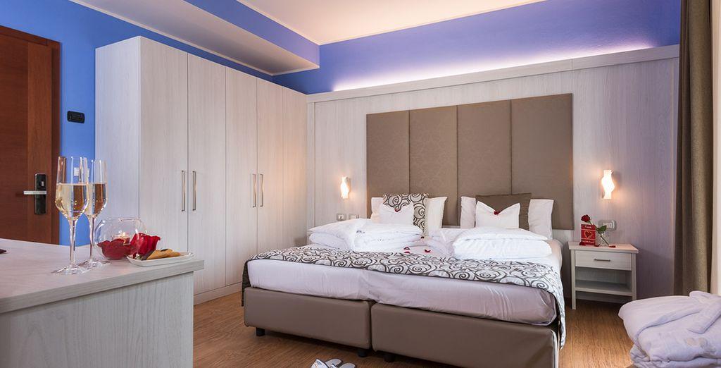 U verblijft in een comfortabele kamer