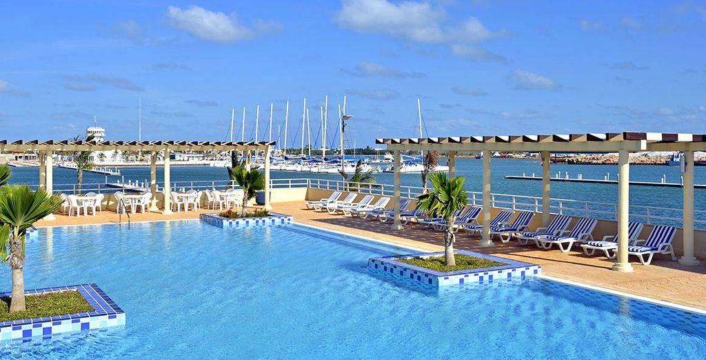 U verblijft in het Melia Marina 5*