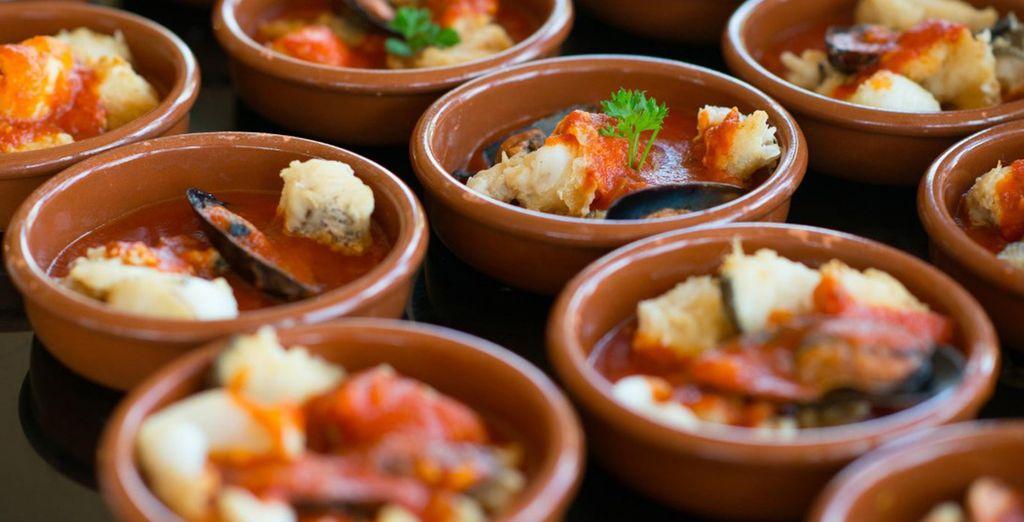 Probeer Canarische en Spaanse specialiteiten