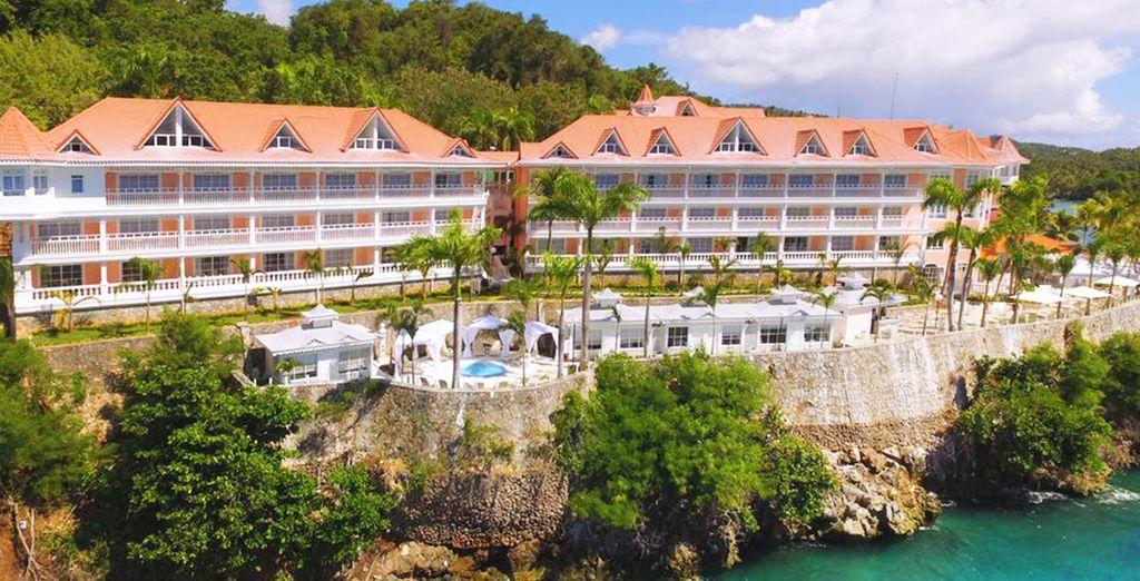 Het Luxury Bahia Principe Samana resort garandeerd een romantische vakantie