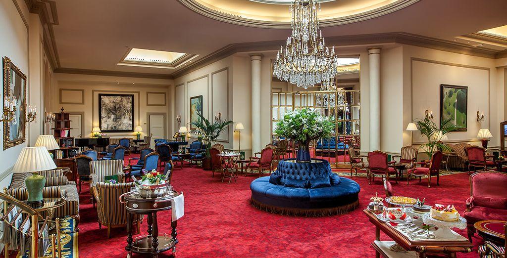 Een luxueus hotel