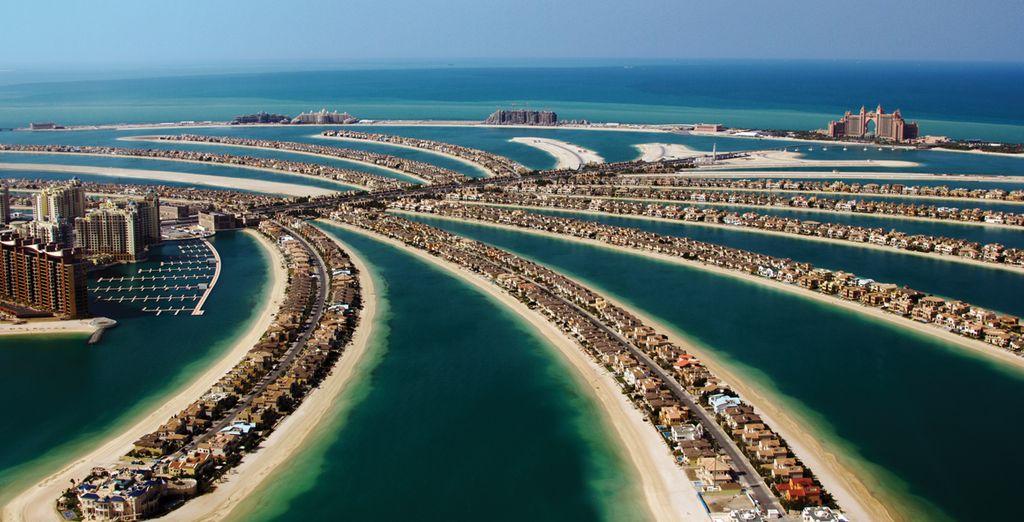 Maar vergeet zeker niet Dubai te ontdekken